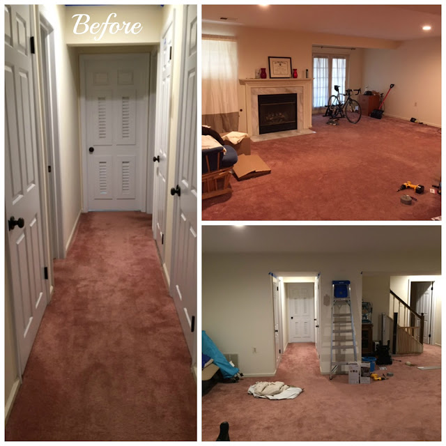 Distance From Fireplace To Rug: Going The Distance: Basement Reveal