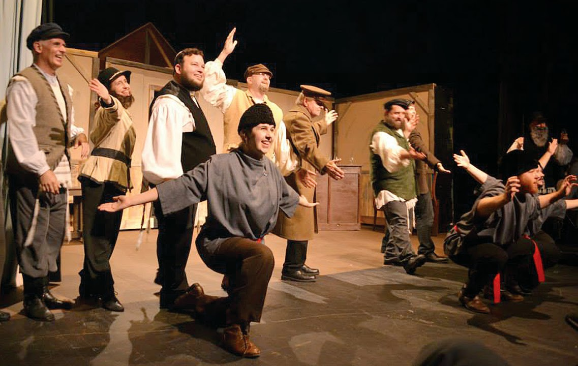 In The Beginning Of The Show We Meet Tevye, Played By (the Perfectly Cast)  Chris Roberts, Who Leads Us Through The Story Of His Village, 1900u0027s  Anatevka, ...