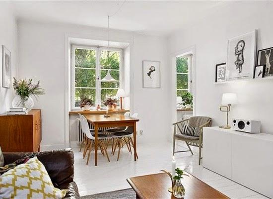 Coffee in the sun klein appartement met een licht en scandinavisch interieur - Scandinavische kleur ...
