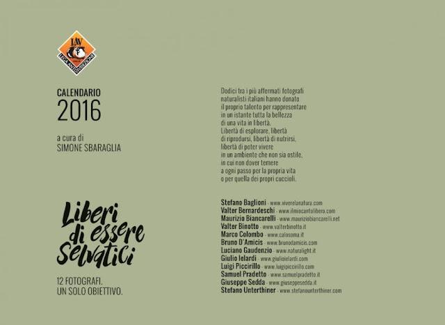 Calendario Lav 2016