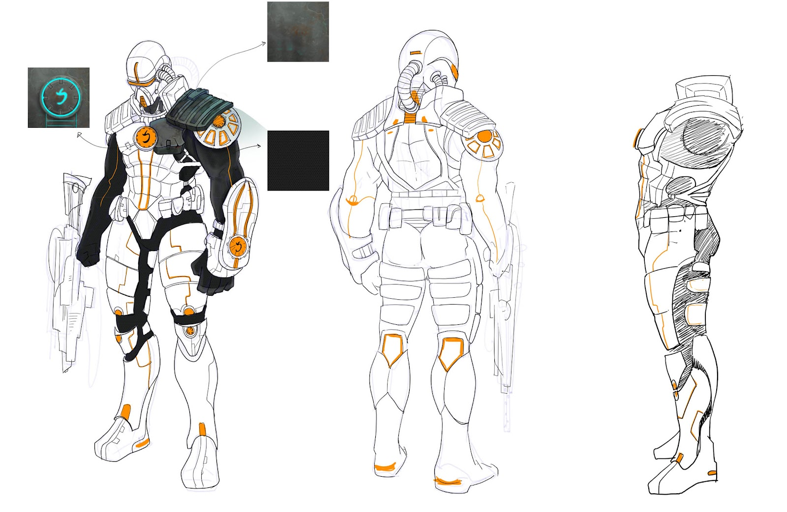 Character Design Studio : Game studio İlk adim character design
