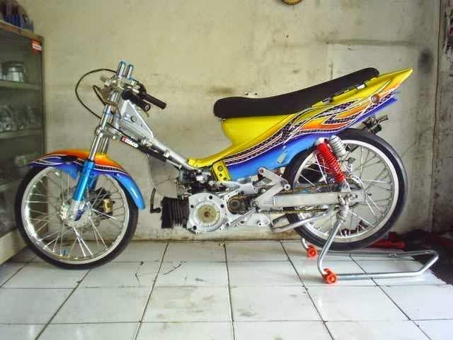 Motor Drag Yamaha F1ZR