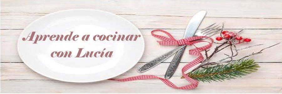 Aprende a cocinar con Lucía