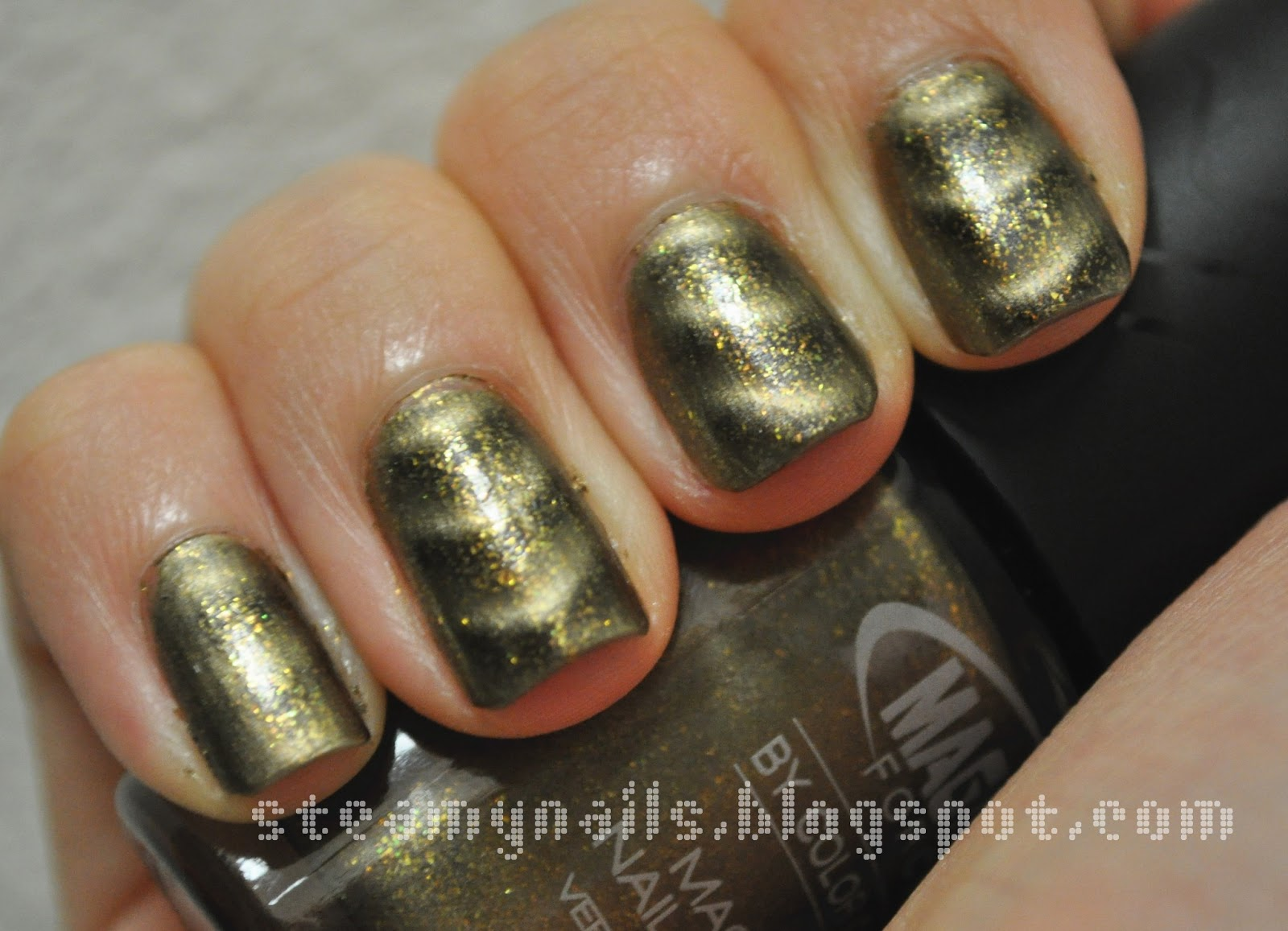 ♥ Steamy Nails ♥: Color Club Magnetic Nail Polish: Sci-Fi Swatches ...