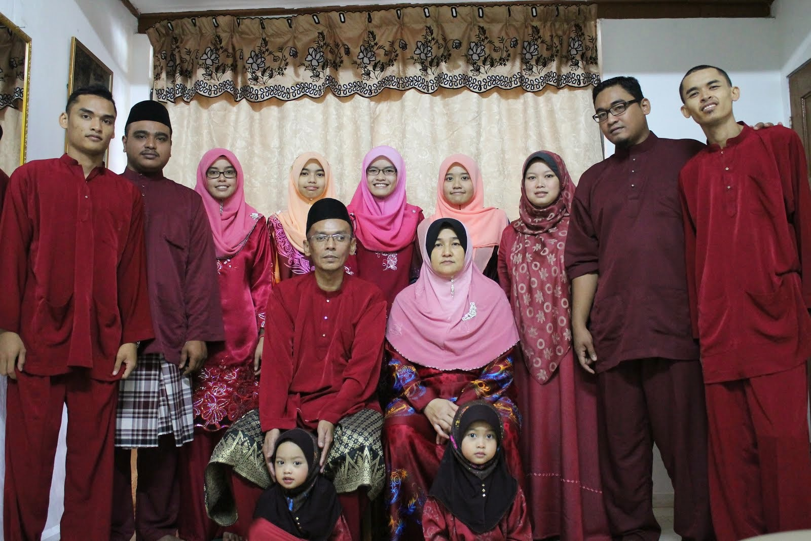 my lovely family-