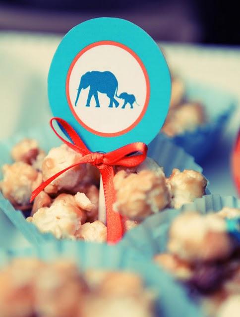 lane juneberry baby little peanut baby shower blue elephant