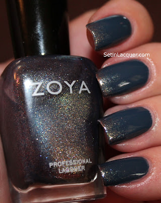 Zoya Natty and Zoya FeiFei gradient nail art