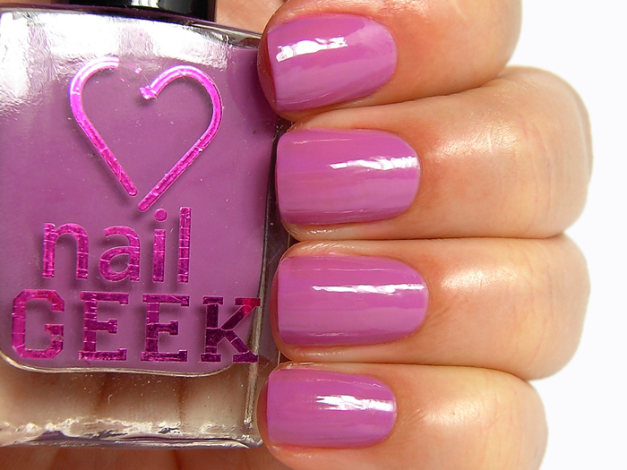 I Heart Makeup Nail Geek - Wisdom