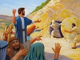 La rueda de queso del santo sepulcro Jesus+resucita+a+Lazaro