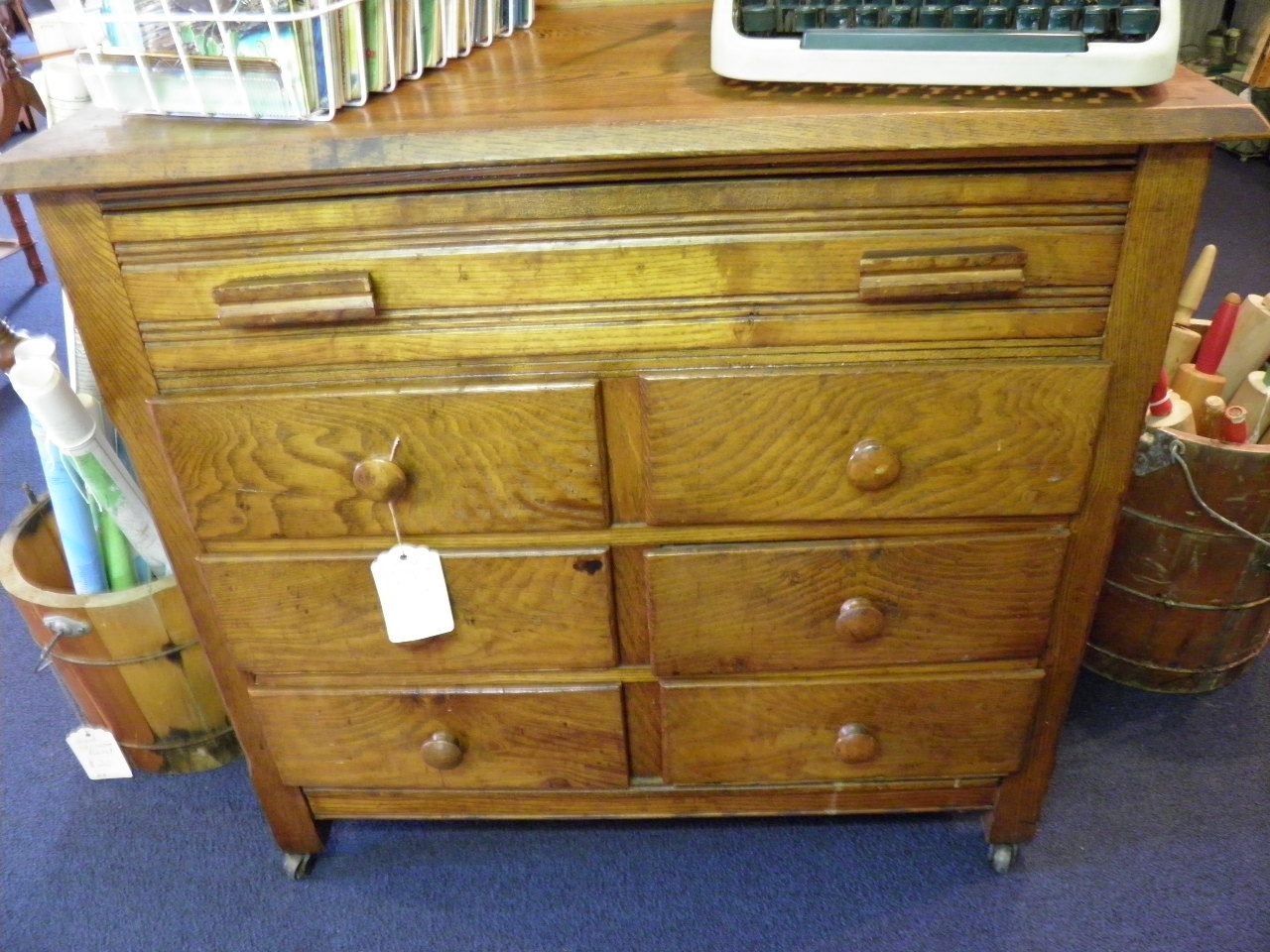 Antique Oak dresser..