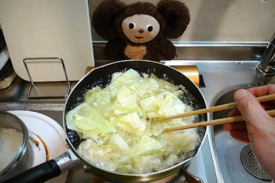 豚肉とキャベツみそ炒めの作り方(1)