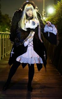 Rozen Maiden Suigintou cosplay by Saku