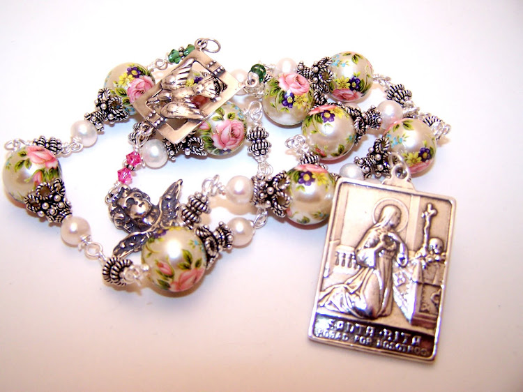 Chaplet Of St. Rita- Patron Saint Of Seemingly Lost Causes