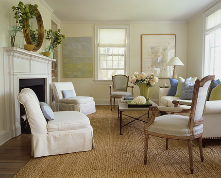 Country Shabby Chic Living Room