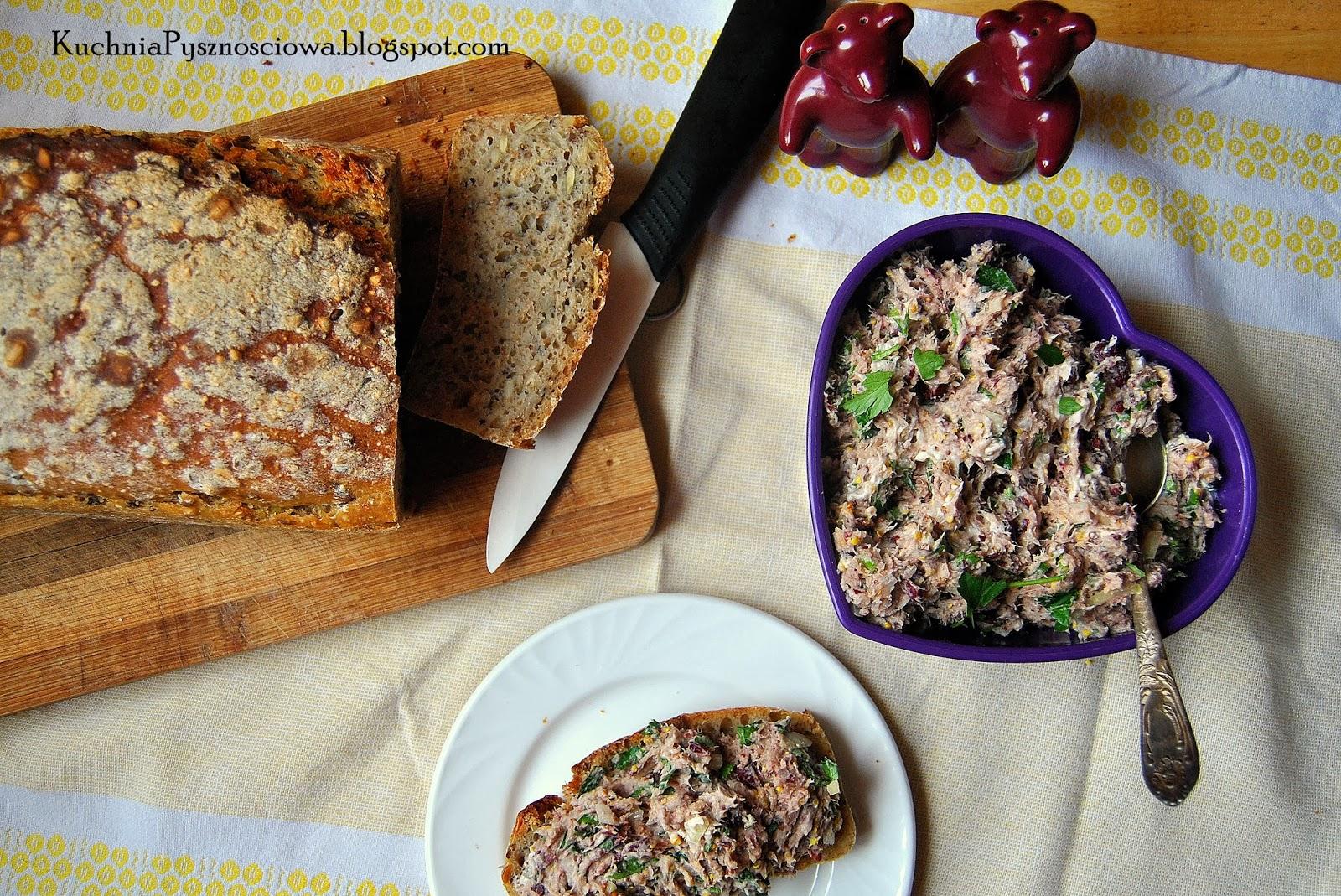 178. Pasta kanapkowa z czerwonej fasoli i wędzonej makreli