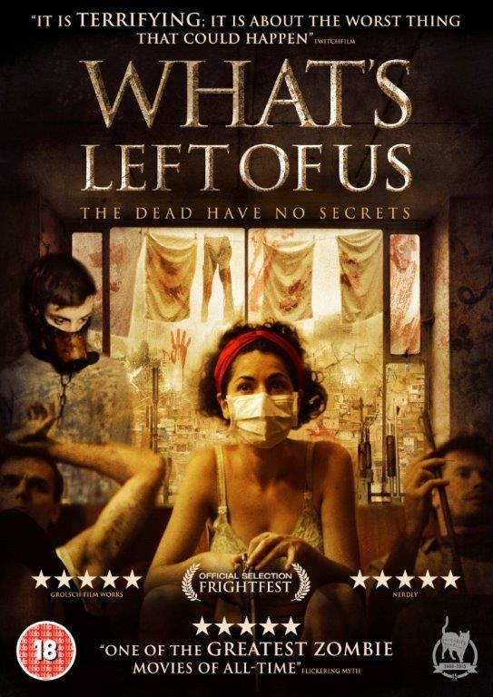 What's Left Of Us DVD cover