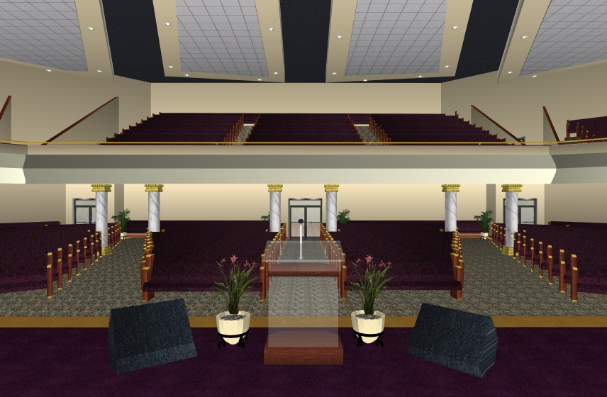 Building for eternity church balcony seating design for Balcony seating