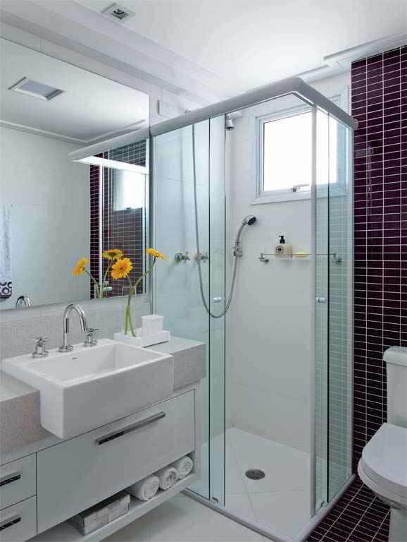 decoracao banheiro pastilhas : decoracao banheiro pastilhas:Banheiros com pastilhas – 37 modelos decorados