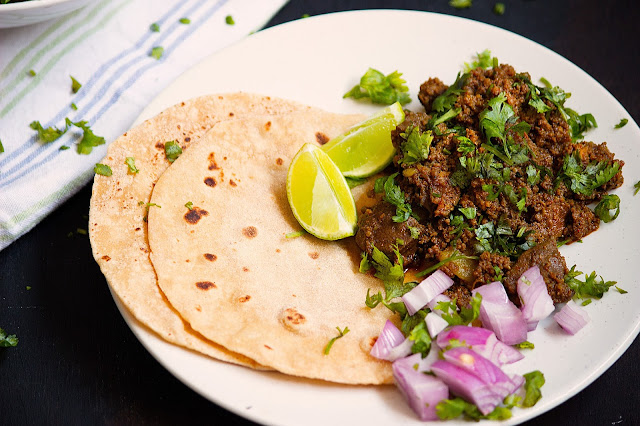 indian keema kaleji curry recipe