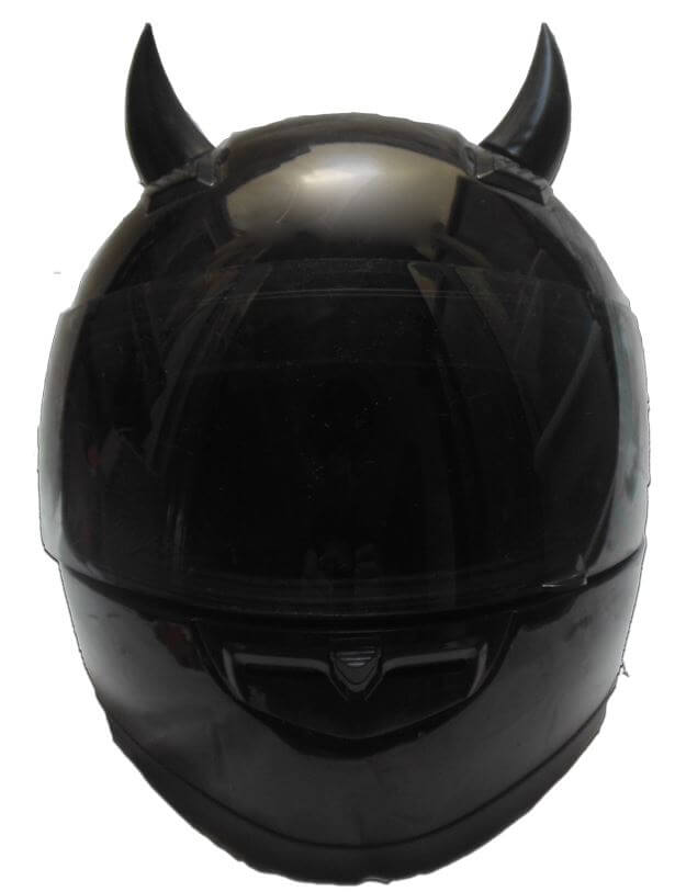 Helmet Devil Horns Can be Used as Devil Horns