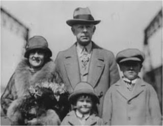 Jesse Livermore and wife Dorothy and sons Paul and Jesse Livermore Jr