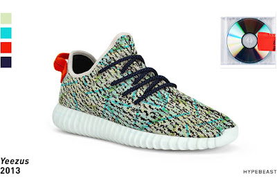 Yeezy Boost 350s Inspired By Kanye's Albums