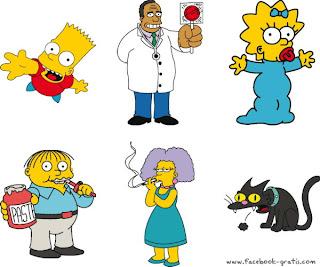 Los Simpsons Etiquetar