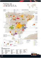Mapa de les D.O. d'Espanya