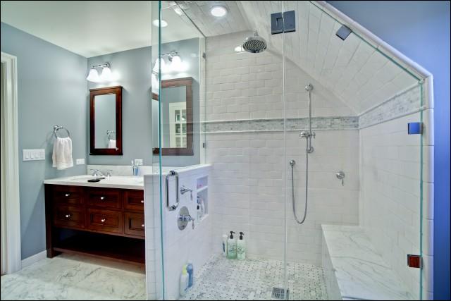 Bathroom Ideas Sloping Roof : Traditional bathroom design ideas room