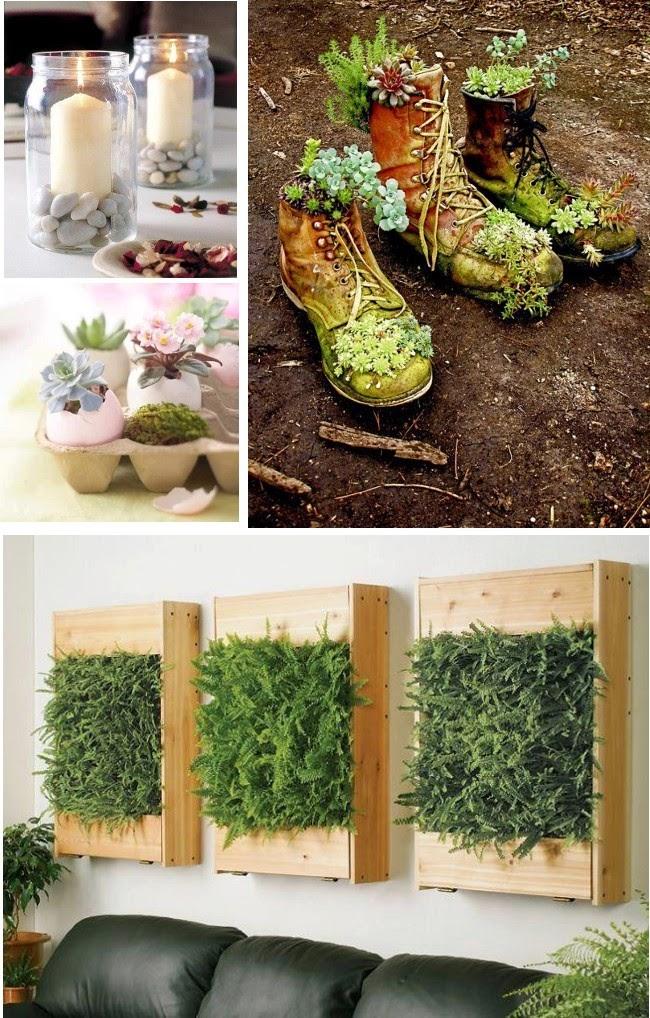 Dise o de jardines ideas para decorar el jard n reciclando for Ideas para decorar el jardin reciclando
