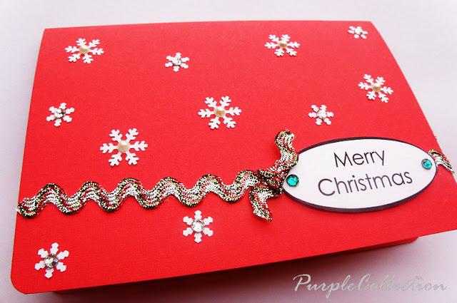 Snowflakes Card, christmas, snowflakes