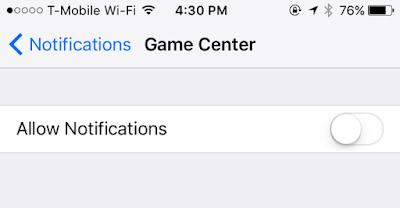 Cara Disable Game Center di iPhone, iPad, dan Mac OS X