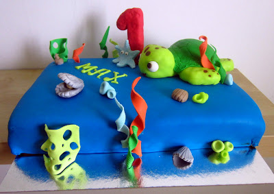Tårta sköldpadda