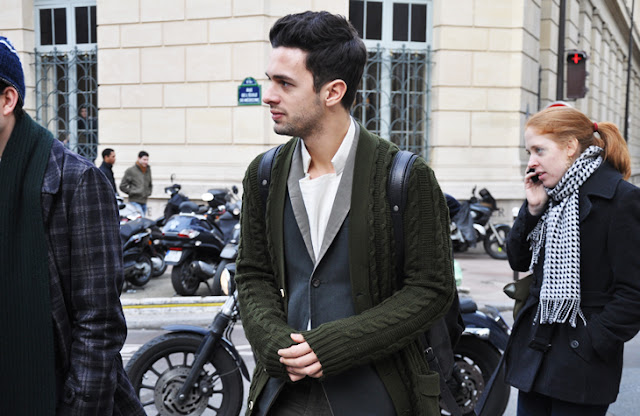 vogues homme international fashion editor francesco cominelli style icon tommy ton