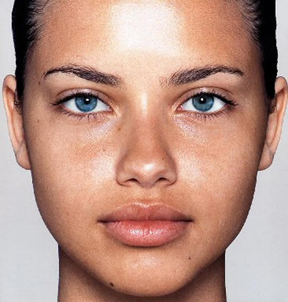 Celebrity Without Makeup Adriana Lima Without Makeup Look Adriana
