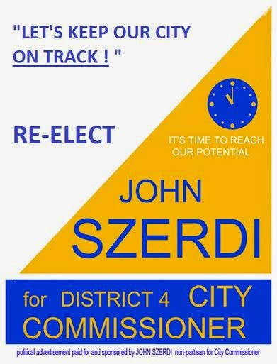 Vote March 10th! Click image below for Commissioner John Szerdi's website