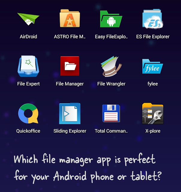 The best File Manager application for Android