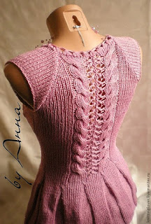 top-russe-tricot-torsade-dos
