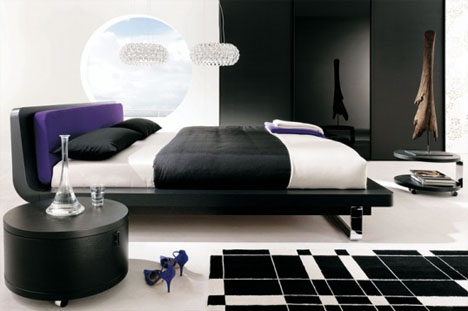 Minimalist Interiors: Black Bedroom Ideas