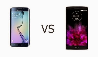 Perbandingan Samsung Galaxy S6 Edge vs. LG G Flex 2