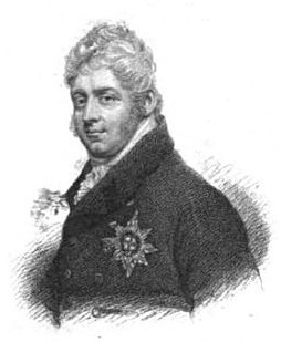 Adophus, Duke of Cambridge  from A Biographical Memoir of Frederick,   Duke of York and Albany by John Watkins (1827)