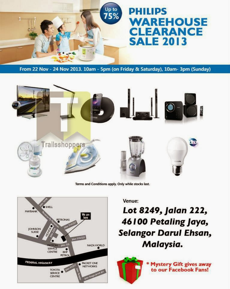 Philips Warehouse Clearance Sale 2013
