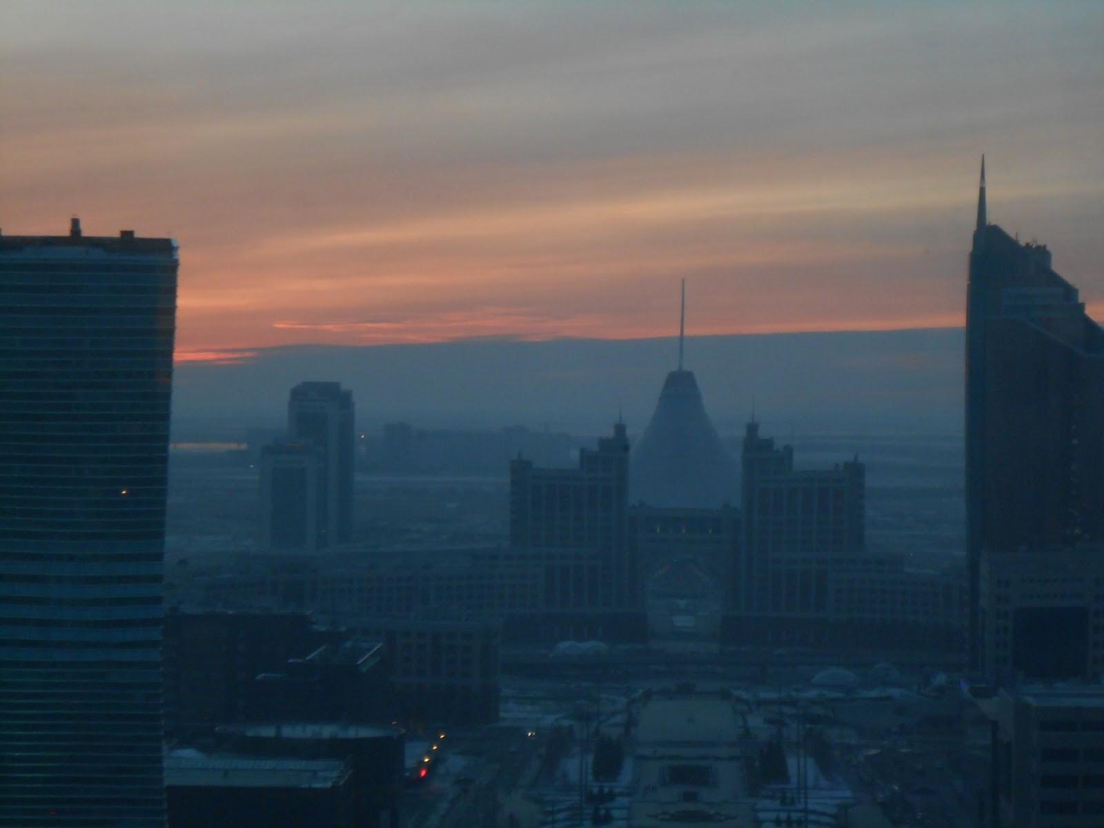 Baiterek Sunset