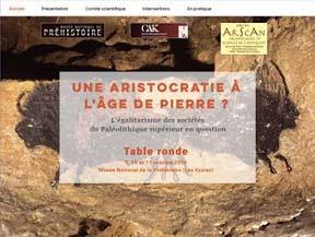 Colloque :<br>« Une aristocratie<br>à l'Âge de pierre ? »