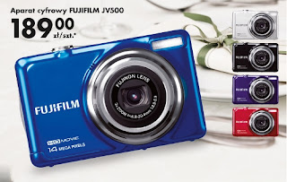 Aparat cyfrowy Fujifilm JV500 Biedronka