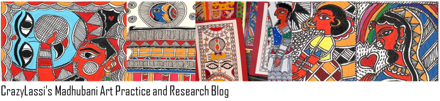 CrazyLassi's Madhubani Art Practice and Research Blog