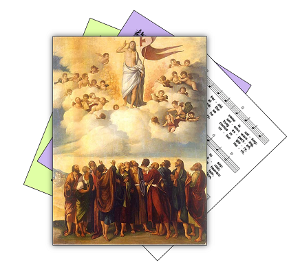 Hymns for Jesus ascension into heaven