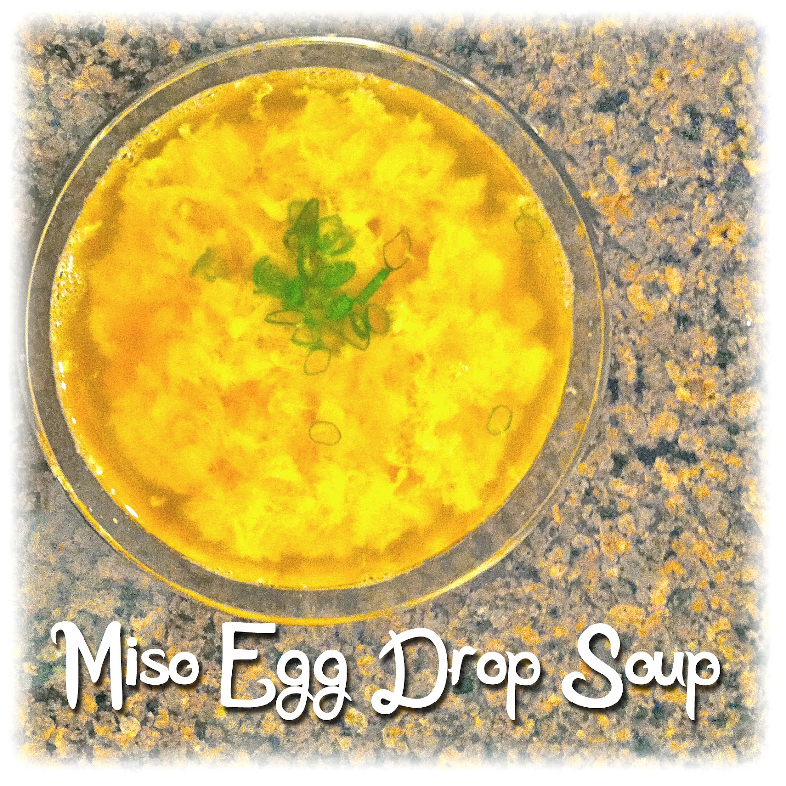 The Dilettante Chef Miso Egg Drop Soup