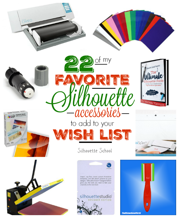 22 Of My Favorite Silhouette Crafty Items To Put On Your