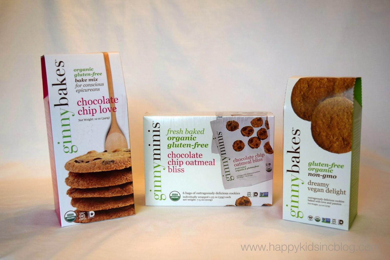 ginnybakes gluten free cookies and bake mixes